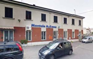 La stazione Fs a Montale-Stazione