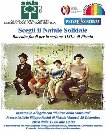 NATALE SOLIDALE CON L'AISLA