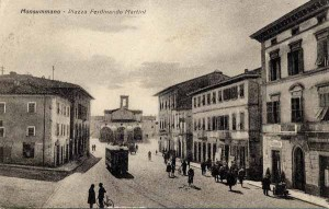 Piazza Ferdinando Martini, Monsummano