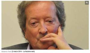 Roberto Fedi [da La Nazione Web]