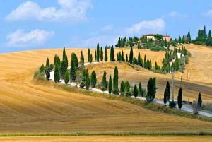 Una immagine della Toscana