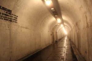 Un corridoio dei rifugi Smi di Campo Tizzoro