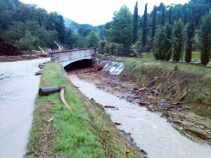 Valfreddana, evento alluvionale del luglio 2014
