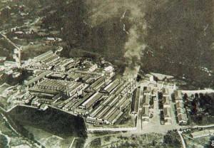 Veduta aerea della Smi di Campo Tizzoro