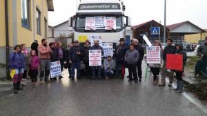 Montagna in protesta