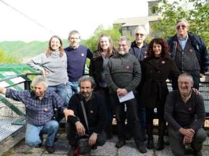 """Roberto Fossi e gli altri membri di """"L'altra Sambuca"""""""