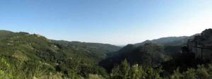 Una veduta della Val di Forfora