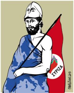 Una Syriza (sibilo) che è diventato un ciclone per i tiranni