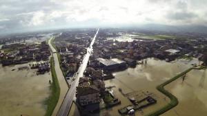 Alluvione nella piana