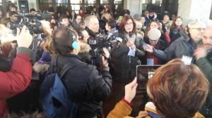Anna Rita Bramerini saluta gli studenti