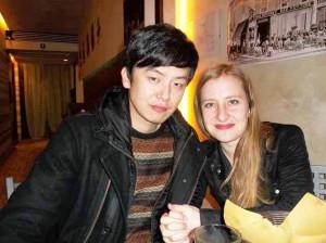 Diletta Caprilli con Lang Yang