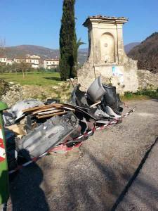 Discarica alla Madonnina in via Santomoro