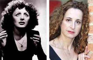 Edith Piaf e Monica Menchi