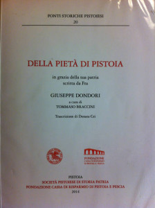 La Pietà di Pistoia, Giuseppe Dondori. Frontespizio