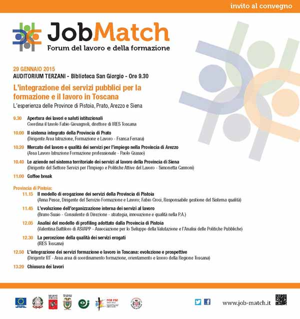 "FOLLA DI VISITATORI AL ""JOB MATCH"""