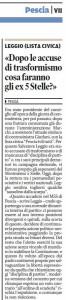 Il Tirreno, 27 gennaio 2015