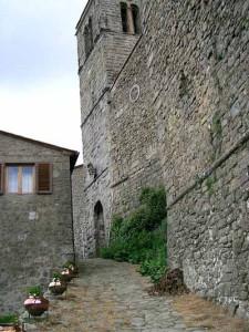 Il castello di Serra Pistoiese