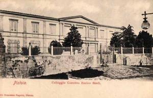 Il palazzo ex Enpas in una cartolina del 1902 [collezione Paolo Cerretini]