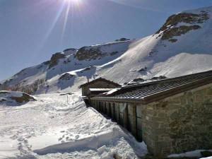 Il rifugio del Lago Nero