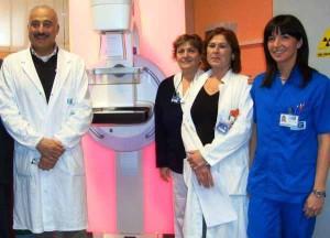L'équipe del mammografo