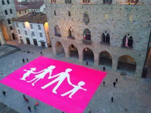 La Manif Pour Tous Italia. Bandiera 3