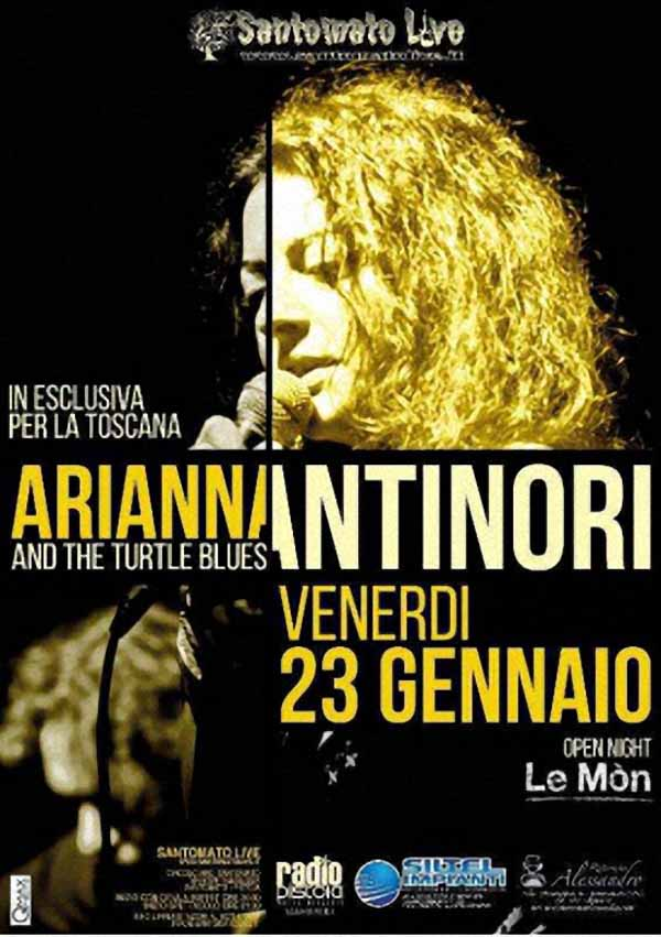 SANTOMATO LIVE. ARIANNA ANTINORI & THE TURTLE BLUES