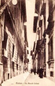 Via Amati Cellesi, oggi Via Panciatichi [Collezione Paolo Cerretini]