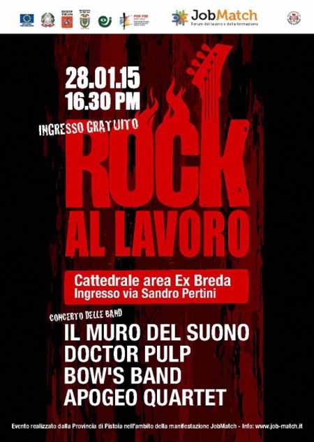 """ROCK AL LAVORO"" IN CATTEDRALE"