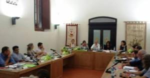 Una seduta del consiglio comunale a Buggiano