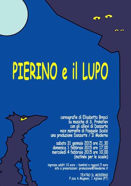 """""""PIERINO E IL LUPO"""", UNA FIABA MUSICALE AL TEATRO MODERNO"""