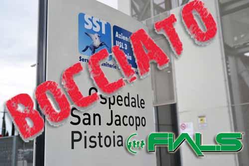 FIALS: «DISAGI AL SAN JACOPO? NO, GESTIONE FALLIMENTARE!»