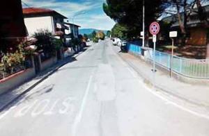 Via Lippi-incrocio via Torino