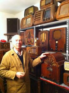 Osvaldo Solari e la sua collezione di radio