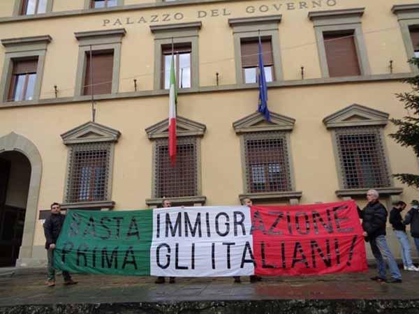 """PROFUGHI, LA DENUNCIA DI """"CASAPOUND ITALIA"""""""