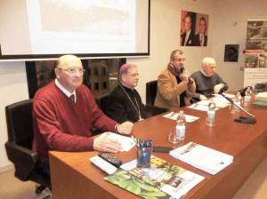 Carlo Vezzosi, Mons. Tardelli, Fabrizio Tesi e Marco Baldi 100_4315