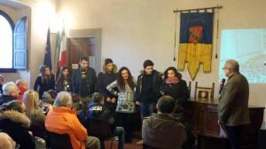 Dario Rossi e gli studenti della montagna