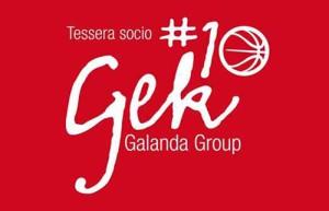 La tessera socio Gek Galanda Group