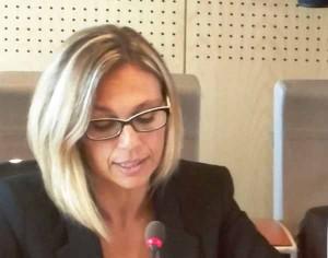 L'Assessore Sara Nocentini