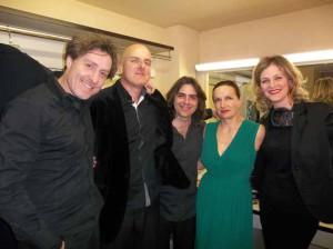 Massimo De Lorenzi, Ermanno Dodaro, Massimiliano Gagliardi, Maddalena Crippa e Rossella Zampiron