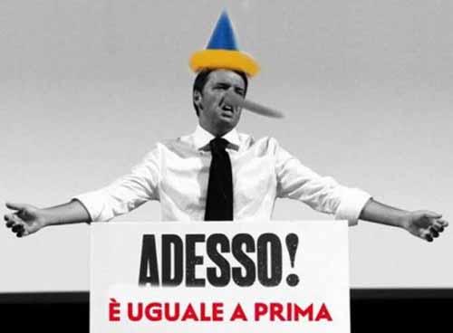 ITALIA IN CADUTA LIBERA: E NON VOGLIAMO VEDERLO