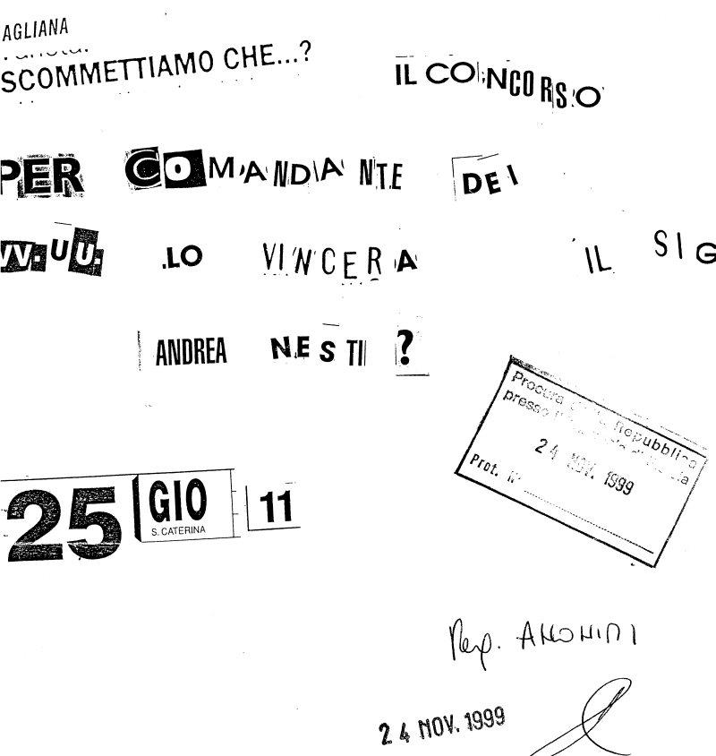 AGLIANA, RIEPILOGANDO IL CASO NESTI/GODUTO. 4