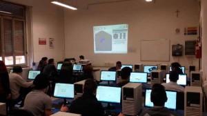 Studenti del Pacinotti in aula