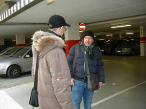 Uscita pedonale parcheggio San Giorgio, Pistoia. L'ospite fiorentino