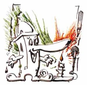 Il logo dell'Accademia della bugia