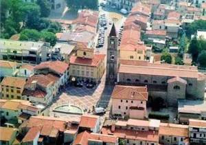Veduta aerea di Agliana