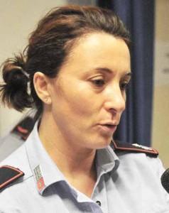Annalisa Giunti, comandante della polizia municipale