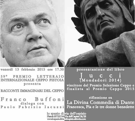 FRANCO BUFFONI DIALOGA CON PAOLO FABRIZIO IACUZZI
