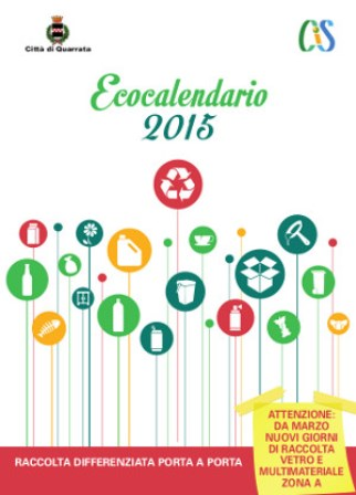 PORTA-A-PORTA, IN DISTRIBUZIONE L'ECO-CALENDARIO 2015