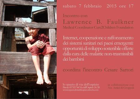 INCONTRO CON LAWRENCE B. FAULKNER