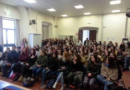 """LABORATORIO SULL'OMOSESSUALITÀ AL """"FORTEGUERRI"""""""